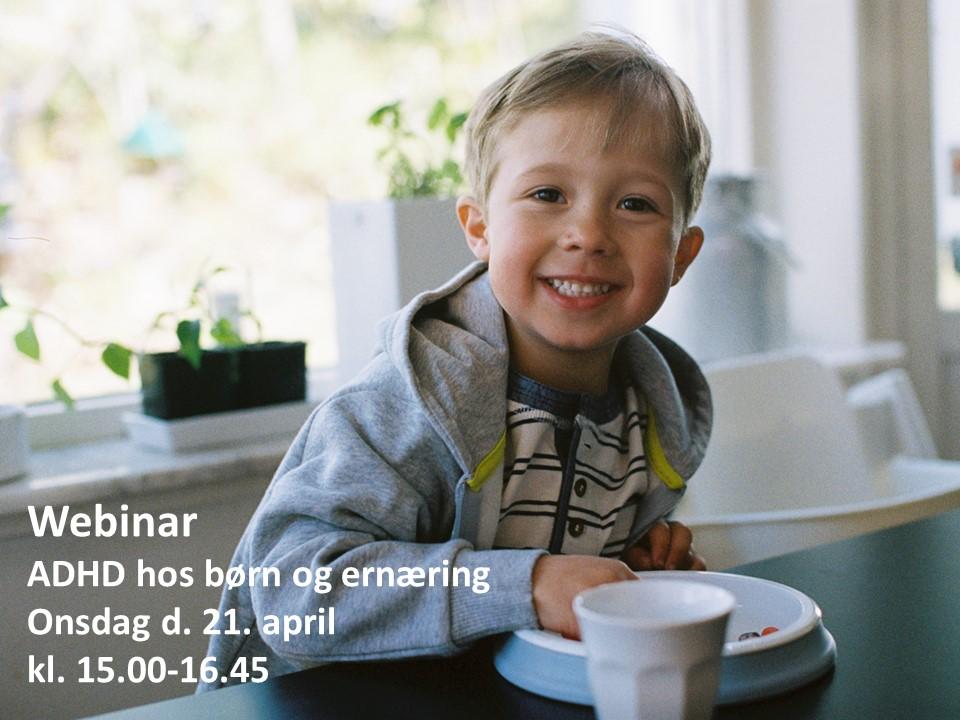 Webinar: ADHD hos børn og ernæring